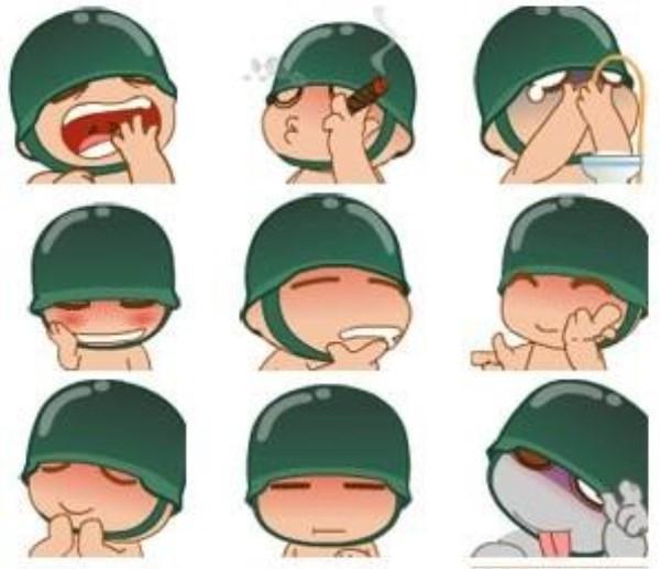"""一是抽象化的字母或标点符号的组合,也就是""""颜文字"""",如表示笑脸的"""":)"""""""